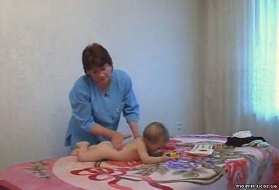 Видео урок  » Детский массаж и развивающая гимнастика (возрасте 10-12 месяцев) смотреть онлайн бесплатно без регистрации