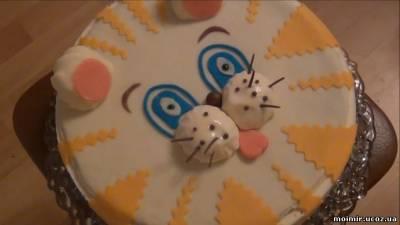 Торт для детского праздника своими руками обучающее видео