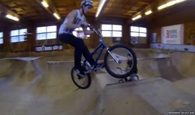 Трюки с радиуса. BMX смотреть обучающее видео